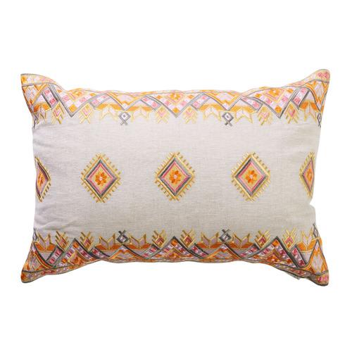 Ipanema Cassis Cotton & Linen Cushion