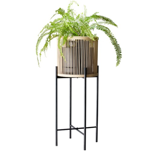 Salt & Pepper Natural Rhythm Plant Stand