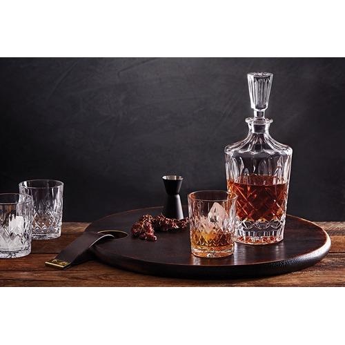 Salt U0026amp; Pepper Bond Harding Cut Glass Decanter