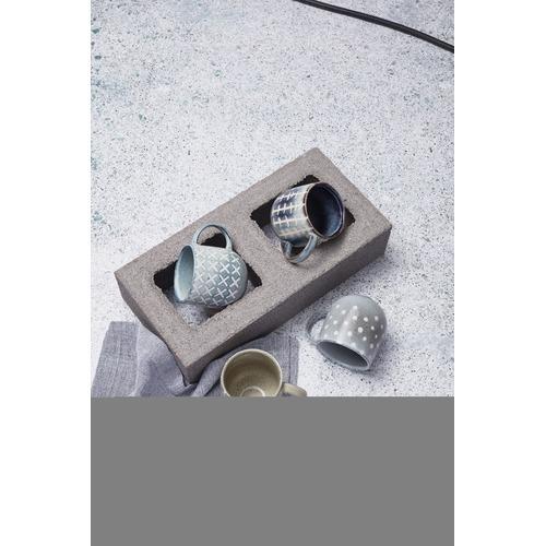 Salt & Pepper 380ml Ocean Naoko Cross Mug