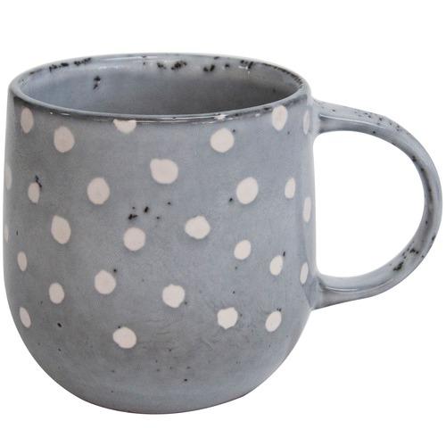 Salt & Pepper Salt & Pepper Grey Naoko 380ml Polka Mugs
