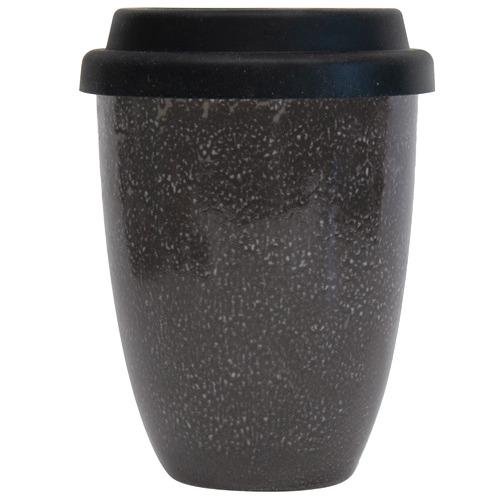 Salt & Pepper Black Barista 350ml Traveller Mug