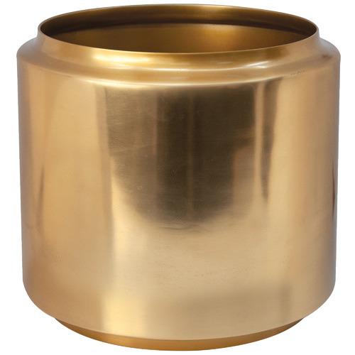 Salt & Pepper Salt & Pepper Gold Halcyon Metal Planter