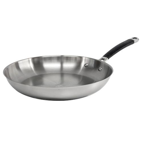 Salt & Pepper Austenite 31cm Stainless Steel Fry Pan