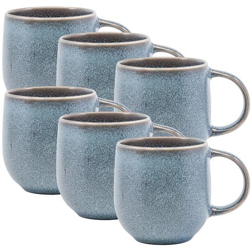 Salt & Pepper Petrol Naoko 380ml Stoneware Mugs