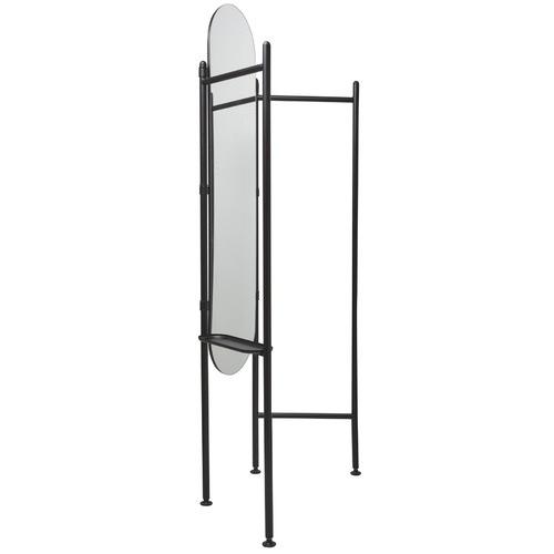 Umbra Vala Floor Mirror & Hanging Rack