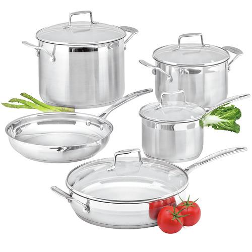 5 Piece Scanpan Impact Stainless Steel Cookware Set