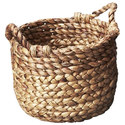 Inartisan Textural Water Hyacinth Basket