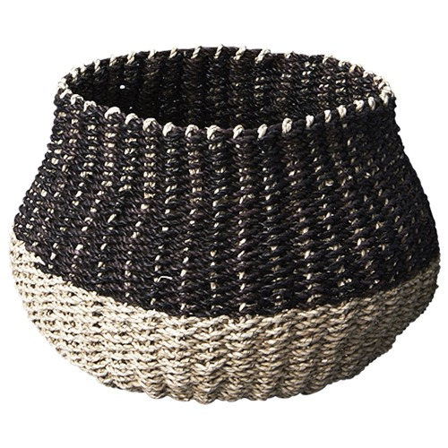 Inartisan Mini Contrast Seagrass Belly Basket
