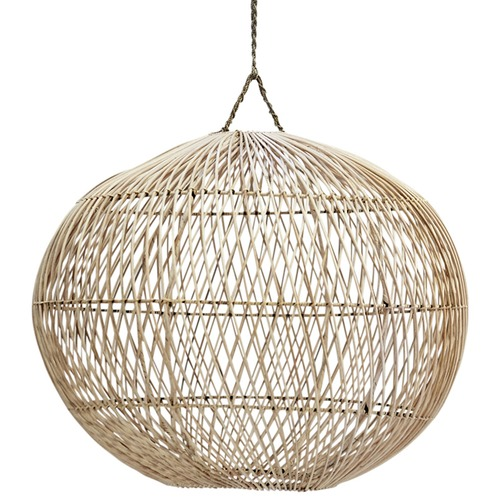 Hand woven rattan ball light shade temple webster inartisan hand woven rattan ball light shade aloadofball Images