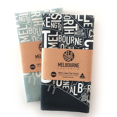 Burbia Melbourne Tea Towel