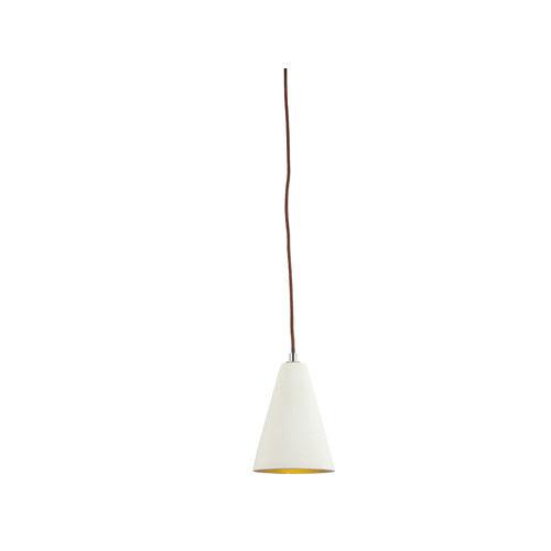 LUMINITE Stone Luminite Concrete Conical Pendant Lamp