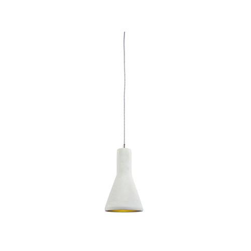 LUMINITE Luminite Concrete Funnel Pendant Lamp