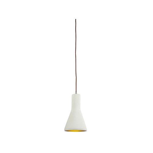 LUMINITE Stone Luminite Concrete Funnel Pendant Lamp