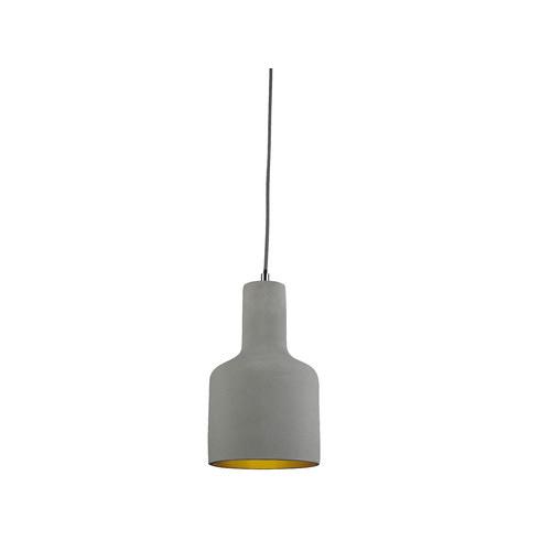 LUMINITE Luminite Concrete Bell Pendant Lamp