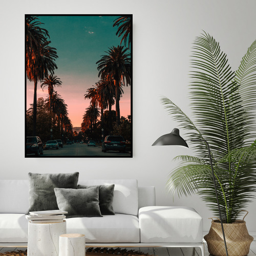 Arthouse Collective Hollywood Nights Canvas Wall Art