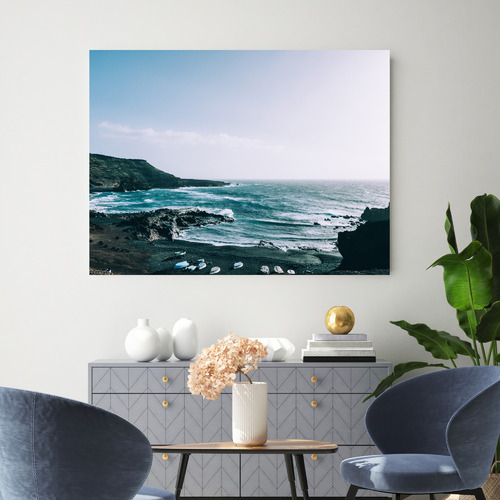 Arthouse Collective Newton By The Sea Canvas Wall Art