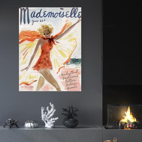 Arthouse Collective Mademoiselle Canvas Wall Art