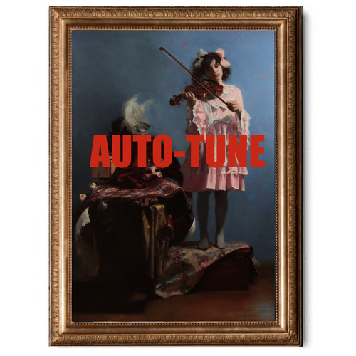 Arthouse Collective Auto-Tune Canvas Wall Art