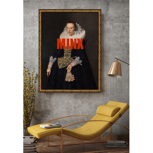 Arthouse Collective Minx Canvas Wall Art