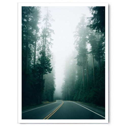 Arthouse Collective Nordic Highway Canvas Wall Art