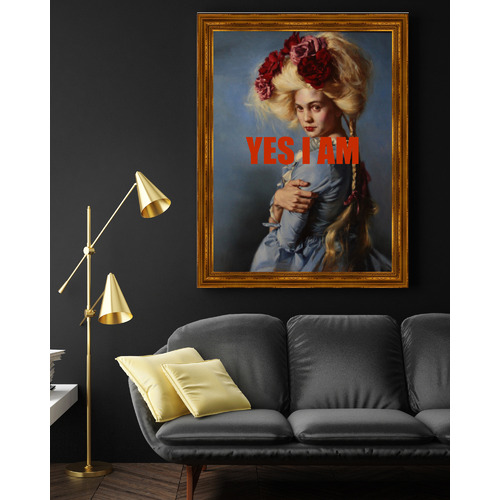 Arthouse Collective Yes I Am Canvas Wall Art
