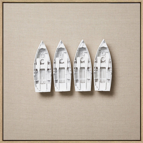 Arthouse Collective Beached Canvas Wall Art