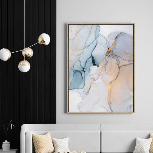 In My Dreams Drop Shadow Framed Canvas Wall Art