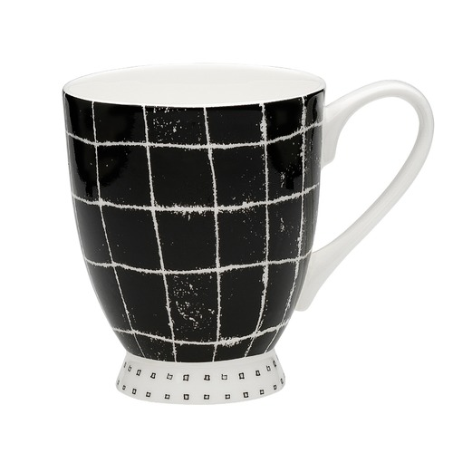 Ecology Scribe Carbon Footed Mugs