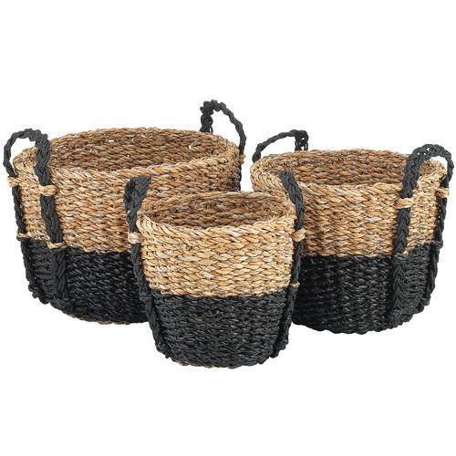 Ecology 3 Piece Seagrass Nesting Basket Set