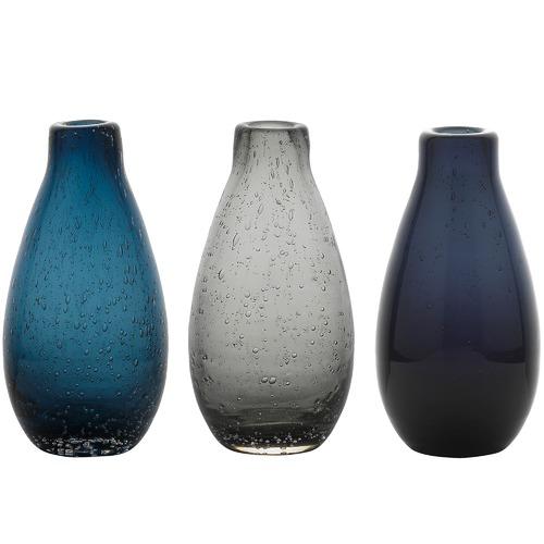 Ecology 3 Piece Halo Droplet  Mood Vase Set