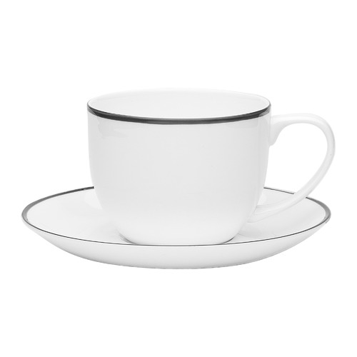 Ecology 2 Piece Bistro 275ml Teacup & Saucer Set