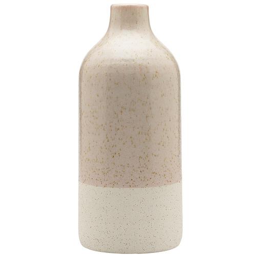 Ecology 32cm River Salt Duo Wide Ceramic Vase