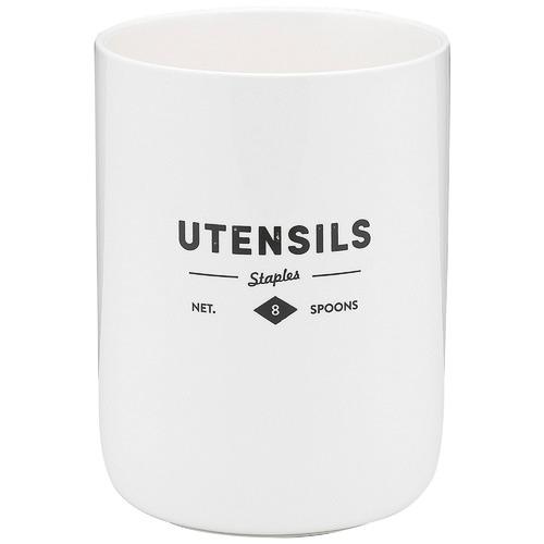 Staples Foundry Porcelain Utensil Holder