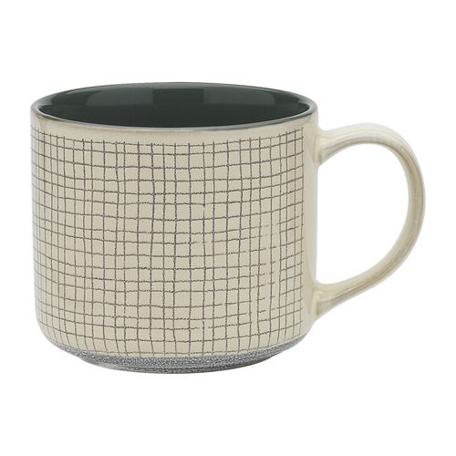 Ecology Spruce Carbon 340ml Stoneware Mug