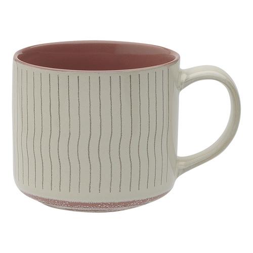 Ecology Cherry Carbon 340ml Stoneware Mug