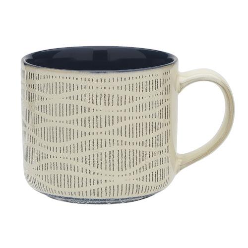Ecology Indigo Carbon 340ml Stoneware Mug