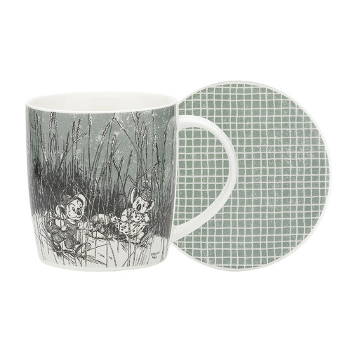 Ecology 2 Piece Green Blinky Bill Mug & Coaster Set