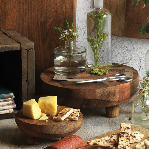 Ecology Mason Footed Wooden Serving Stand