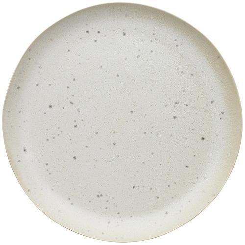 Linen Cream Ecology Malta 21.6cm Stoneware Side Plate