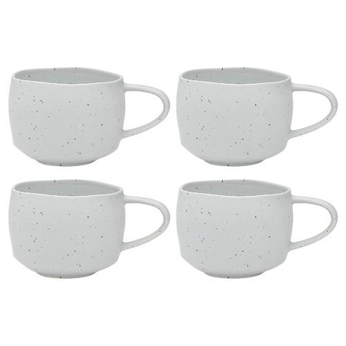 Ocean White Ecology Pepa 400ml Stoneware Mugs