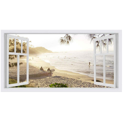 OasisEditionsAustralia Watagoes West Window Stretched Canvas