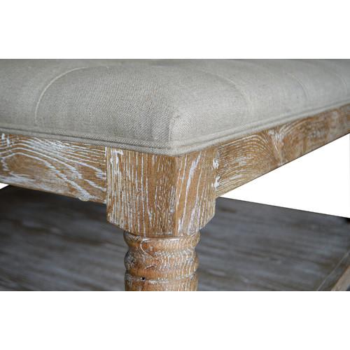 S & G Furniture Adam Ottoman