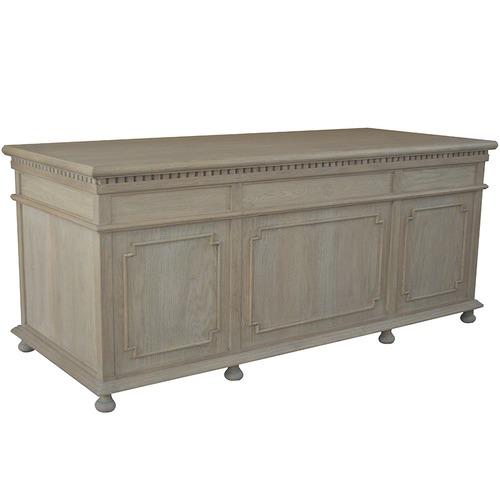 S & G Furniture St. James Classic Oak Desk