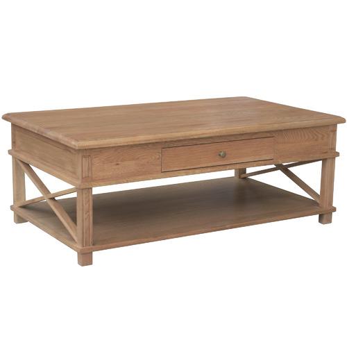 Embrace Oak Wood Coffee Table Temple Webster