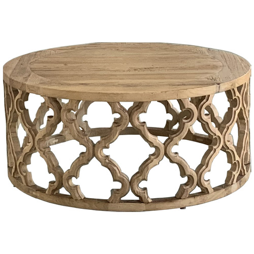 S & G Furniture Sirah Wooden Coffee Table