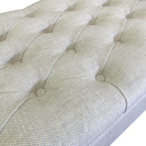 S & G Furniture Large Chelsea Linen Blanket Box