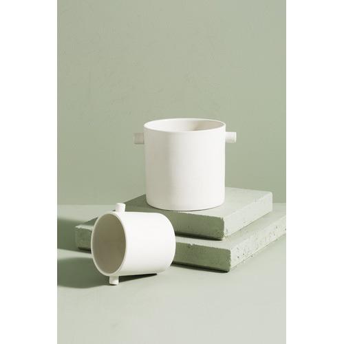 Zakkia Feline Ceramic Handle Pot