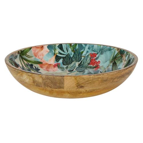 Wildflower 30cm Mango Wood Bowl