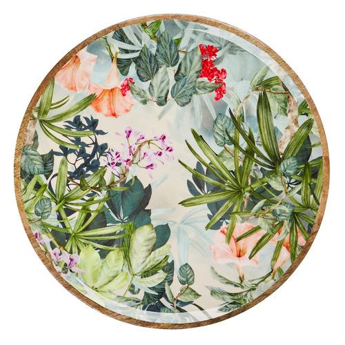 Wildflower 35cm Mango Wood Platter